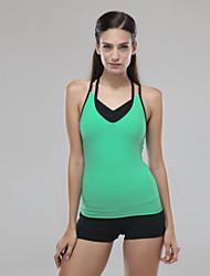 Yoga Oberteile / Tank Tops Hose + Oberteile Vier-Wege-Stretch / Weichheit Dehnbar Sportbekleidung Damen - AndereYoga / Pilates /