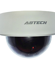 Outdoor/Indoor Lifelike Simulated Fake Security Dome Camera with Blinking LED