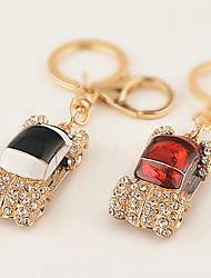 Car Rhinestone Wedding Keychain Favor