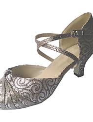 Customized Women's Latin Salsa Shoes Customized Heel Dance Shoes