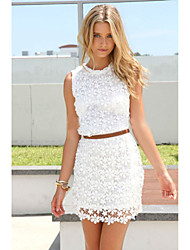 women summer dress white sleeveless cute casual summer dresses Vestidos roupas femininas
