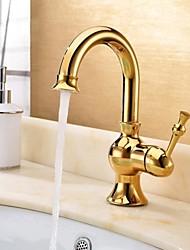 360 salle de bain pivotant robinets d'eau de robinet mélangeur robinet d'évier bec col de cygne de luxe