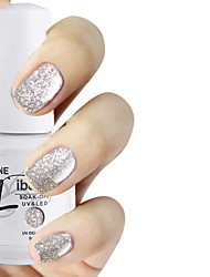 libeine 1pc losweken 15 ml uv gel nagellak kleur gel polish 010 # verblinden wit