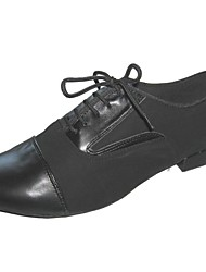 Мужская обувь - Замша/Кожа Черный) - Латино/Современный танец/Тип спортивной обуви/Обувь для стандартной программы