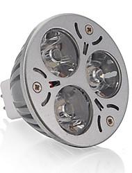 3W GU5.3(MR16) Точечное LED освещение MR16 3 Высокомощный LED 250 lm Тёплый белый DC 12 V 1 шт.