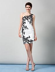 Vestito Tubino - Mini - Monospalla