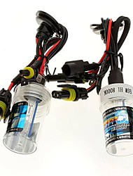 Car H1 55W 6000K HID Xenon Headlight Light Lamp Bulb (2PCS)