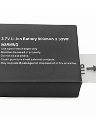 Bo3.7V Li-ion Battery for China SJ4000 Sport Camera, 900mAh 3.33Wh