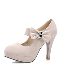 Women's Shoes Heel Heels / Platform Sandals / Heels Office & Career / Dress / Casual Black / Pink / Almond / 168-2