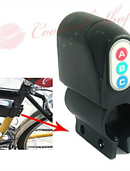 Bike Bicycle Security Alarm 120DB Audible Sound Lock NEW