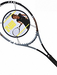 Las raquetas de tenis ( Negro , Fibra de Carbono ) - Impermeable/Buena aerodinámica/Alta elasticidad/Durabilidad