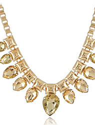 New Arrival Fashional Hot Selling Crystal Water Drop Necklace