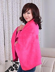 Coral Fleece  Shawl Wrap Blanket