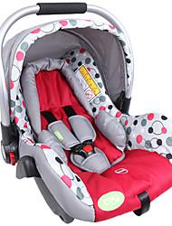 YKO ™ nueva canasta bebé asientos de seguridad para niños tipo de coche que espesan esponja mango de metal de aluminio para 0-13kg