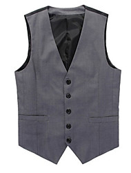 Men's Casual Work Sleeveless Suits Vests