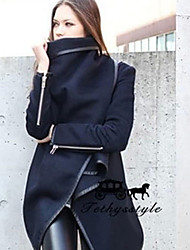 The 2015 main explosion in spring and Autumn New Europe's temperament wool coat