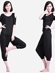 Loose Yoga Suit With Modal Fabric Plus Fours