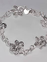 s925 zilveren armband schakelarmband bloem design anker armband heetste mode