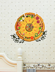 3D The Pizza Wall Stickers Wall Decals