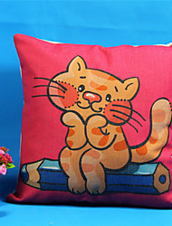 45*45cm Cat Pillow Covers Decorative