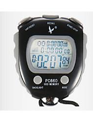fila pc660elthree cronometro elettronico 100 memoria timer sport cronometro cronometro movimento cronometro