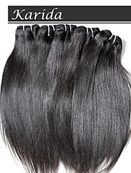 3 psc/Lot Indian Hair unprocessed virgin indian remy hair, Karida Hair Unprocessed Top Quality Indian Hair