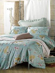 Duvet Cover Sets 300TC Egyptian Cotton King Queen Size 100% Cotton