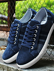 Men's Shoes Casual Canvas Fashion Sneakers Blue