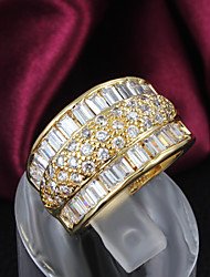 Party Gold Plated Statement Ring Fashion Rings for Women 2015 Hottest Fashion