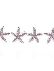 Женский Сплав металлов Заставка-Свадьба / Особые случаи / На каждый день Шпилька 4 предмета