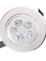 LED Downlights 5 High Power LED 450-550lm lm Warm White / Natural White Decorative AC 85-265 V 1 pcs
