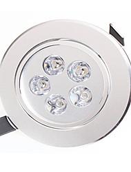 LED a incasso 5 LED ad alta intesità 450-550lm lm Bianco caldo / Bianco Decorativo AC 85-265 V 1 pezzo
