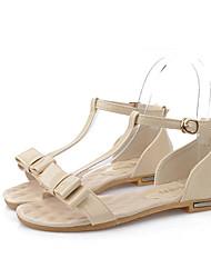 woosa Women's Shoes Green/Purple/Almond Flat Heel Sandals