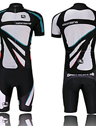 The White Horse Riding GIORDANA Short Sleeved Suit Breathable Quick Dry Cycling Clothes
