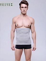 YUIYE® Men Waist Cincher Slimming Waist Belt Shaper Waist Trainning Corsets Slimming Belly Tummy Burn Fat Grey