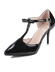 Women's Shoes Stiletto Heel Pointed Toe Pumps/Heels Wedding/Party & Evening/Dress Black/Pink