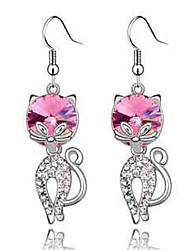 The cat earrings
