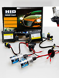 3200LM 12V 55W H4-2 9003 Hid Xenon High / Low Conversion Kit 5000K