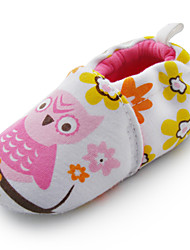 Baby Shoes Casual Cotton Loafers White
