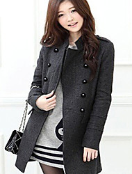 Europese mode elegant ongedwongen goedkope jas amuwomen's