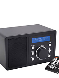 Mutimedia DLNA Wireless Wifi Internet Radio with Remote Control