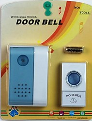 EU Plug New Control distance Door Chimes Wireless Doorbell Remote Control Door Bell Chimes