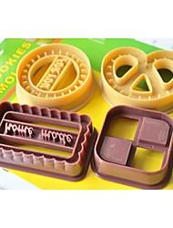мода много помады украшения торта инструменты печенья шоколад хлопьев формы для выпечки кухня для приготовления пищи (случайный цвет)