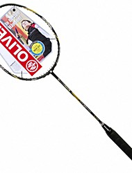 Men/Unisex/Women/Kids Badminton Rackets Low Windage/High Elasticity/Durable 2 Pcs Carbon Fiber