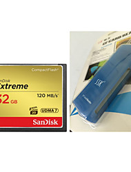 SanDisk CompactFlash 32G CFXSB 120M/S High Speed Camera Memory Card And   CF Card Reader