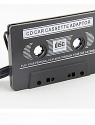 High Quality Brand New Car Audio Cassette Adapter For IPod/MP3/CD Player