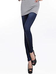 Damen Bedruckt Legging,Baumwoll-Mischungen Polyester Dünn