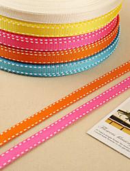 Volltonfarbe Ripsband Hochzeits-Bänder-1 Stück / Set Ripsband
