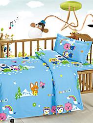 Baby Bedding Blue Cotton for Newborn