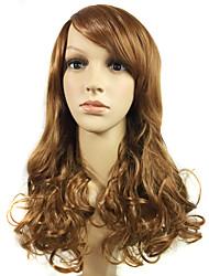 European and American Fashion Natural Wig Curl Simulation Human Hair Wigs
